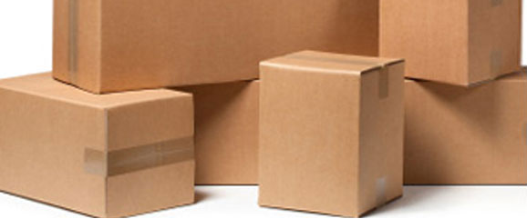 Reliable Industries cardboard boxes