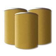 Fiber storage drums.