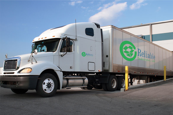 reliable industries llc delivery truck